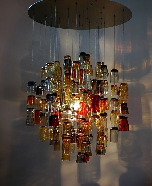 Homemade Chandelier Ideas: Homemade chandeliers that doesnt cost you a dime!,Lighting