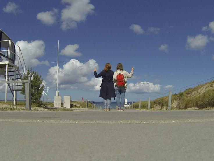 Reisefreunde und Smaracuja auf Ruegen