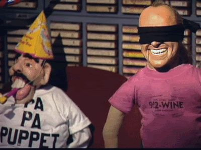 Jackie Puppet And Gary Puppet Classic Stern Show