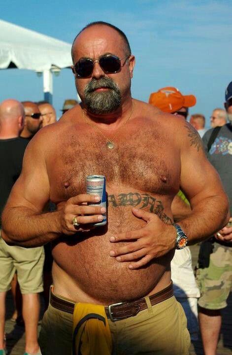 Mature men hairy belly cock scream