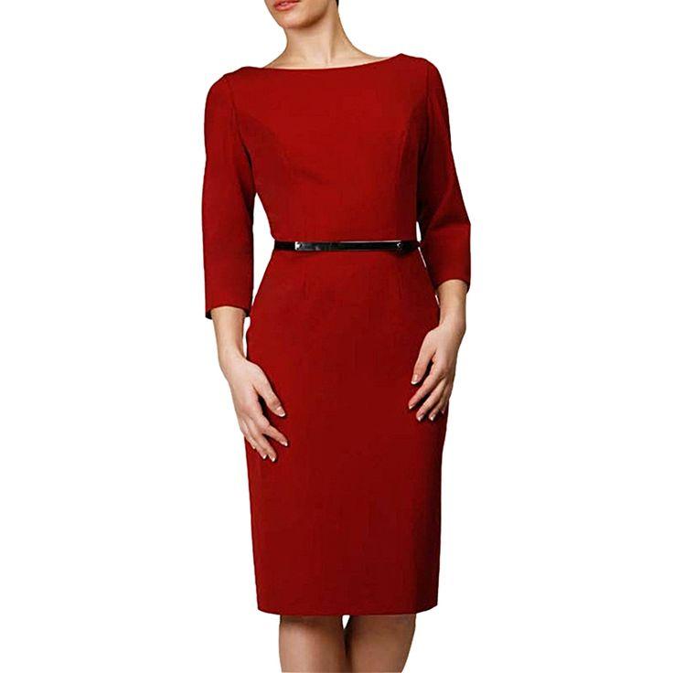 Handsome Red Work Dresses