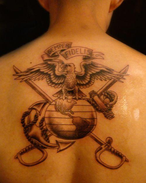 ega eagle globe anchor swords usmc moto tattoo usmilitary tattoolicious bodyink. Black Bedroom Furniture Sets. Home Design Ideas
