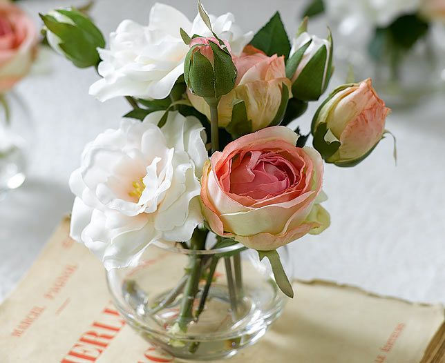 Pink Roses Posy   Bloom Artificial Flowers Share the love this Valentine's Day with our gift guide.