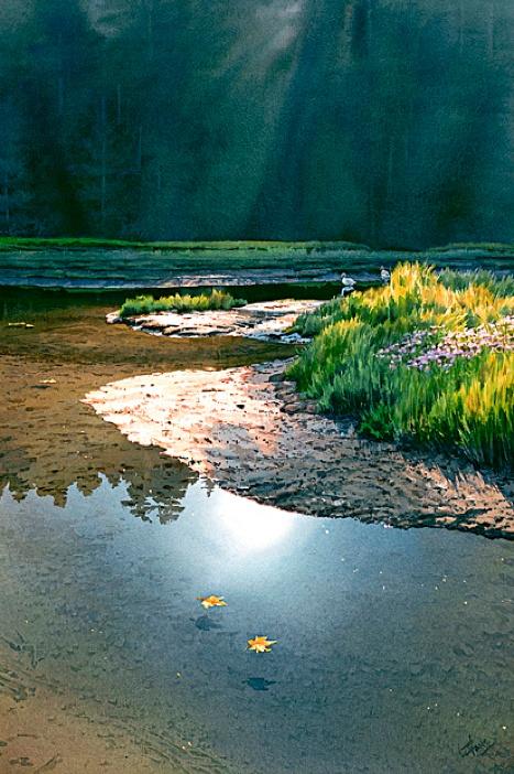 Estuary by Carol Evans