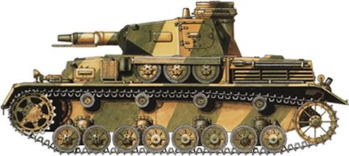 21.PzDiv [Normandie, Juni 1944] pz IV
