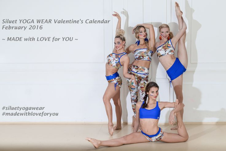 Do you remember Siluet YOGA WEAR Advent Calendar? Have you enjoyed it? Get ready for Siluet YOGA WEAR Valentine's Calendar... 10 days, 10 offers... A bit different, but still perfect offer... And why? Every chance to make ourselves or others happy is unique.... And we love to spoil our clients... It starts on February 1... Until that day we will provide you with more details... Follow our Facebook page and later your e-mail inboxes...  #siluetyogawear