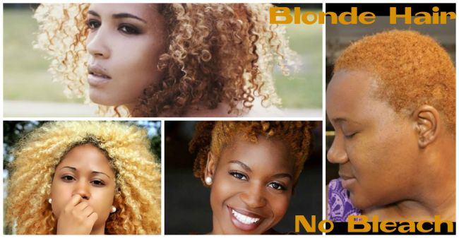 Did you know that you can actually move from having dark natural hair to blonde hair without bleaching? In this post we have a tutorial on how.