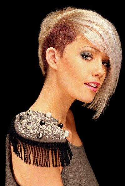 shaved hairstyles for women 2013 | Half shaved hairstyles for girls