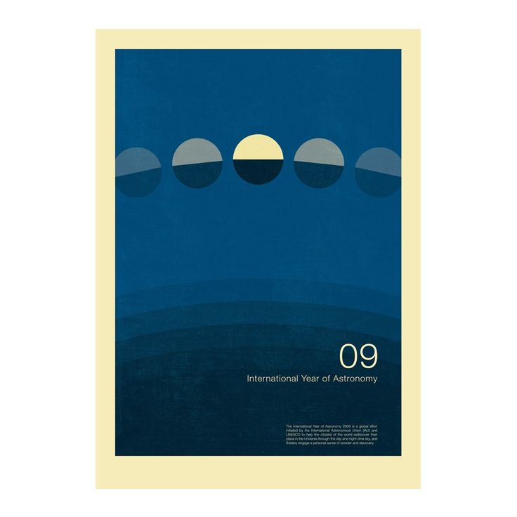 International Year Of Astronomy 4 PostersGraphic DesignersGraphic Design PostersPoster DesignsProduct
