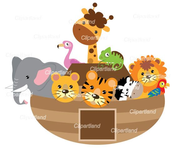 This Listing Includes 1 Set With Individual Transparent Png Files Png Format Meaning Transparent Background Each Image Animals For Kids Noahs Ark Handmade