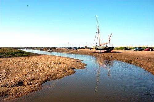 Low tide Blakeney North Norfolk