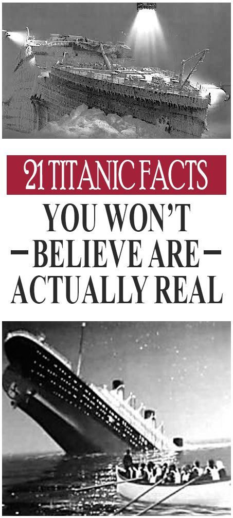 21 Titanic Facts You Won't Believe Are Actually Real