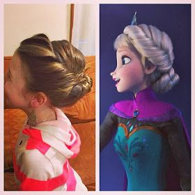 Popular DIY Crafts Blog: How to Make Elsa's Disney (Frozen) Coronation Updo Hairstyle