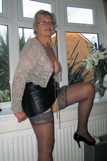 Mature older women spandex