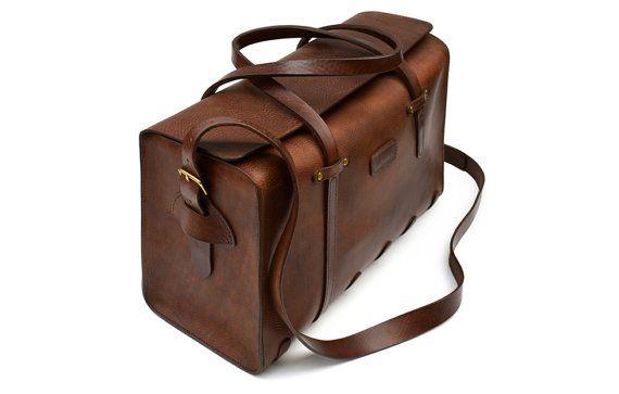 Flight Bag // Leather Cabin Bag // Carry-on luggage от deBruir
