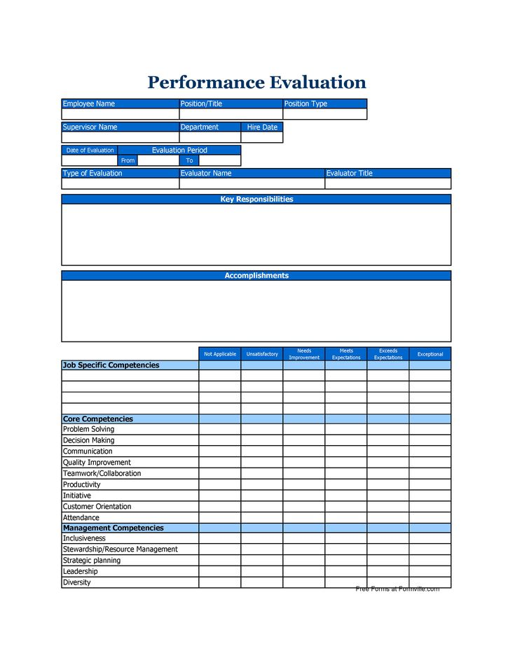 Best 25+ Employee evaluation form ideas on Pinterest Self - how to create evaluation form