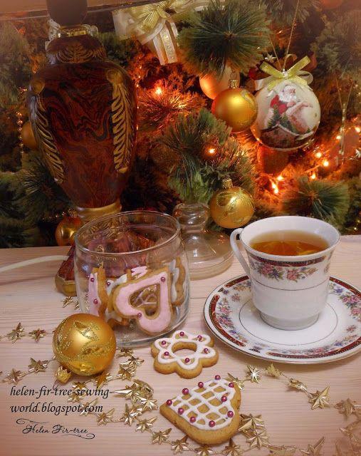 Helen Fir-tree vánoce bižuterie