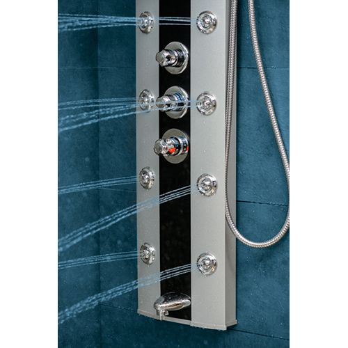 17 best images about colunas de hidromassagem verticais duchas on pinterest. Black Bedroom Furniture Sets. Home Design Ideas