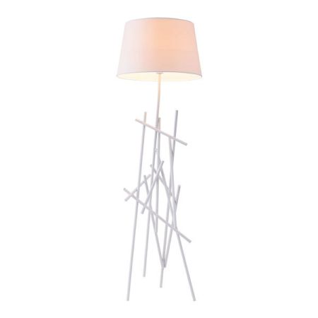 Drought - a whimsical floor lamp with a stand full of branches - is a great lamp for cottages