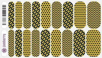 Wolverine nail wraps by Jamberry just released!   University of Michigan Jamberry wraps are high quality, heat-activated vinyl nail wraps. NO MESS and so easy to apply!!!! Plus they are nontoxic, vegan, GMO free, gluten free, and not tested on animals and made in the USA!!!  Click the image to see what you can create with over 300+ designs. Find me on Facebook for a FREE sample:  https://www.facebook.com/jamberrynailswithsarahwiley