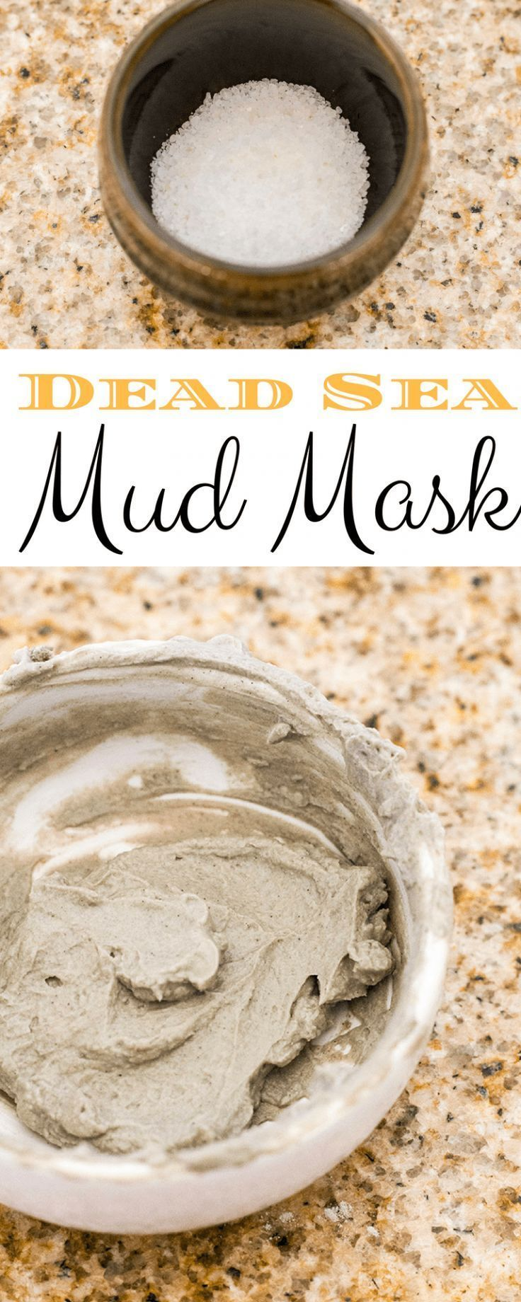 # Skincare Recipes-Homemade Mud Mask from the Dead Sea - #Tot #Hausgeme ...  -  Hautpflege-Rezepte