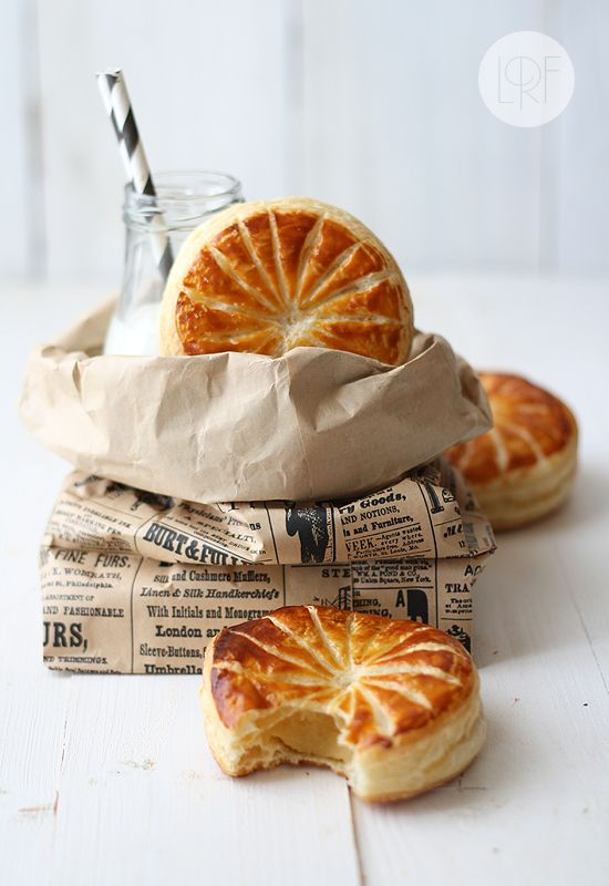 """Galette des rois is a puff pastry pie filled with frangipane, a very popular French cake that celebrates the holiday of Epiphany (January 6th), the day when the Wise Men (Gaspar, Melchior and Balthasar) visited Baby Jesus. As part of French tradition, a bean or small china """"fève"""" (favor) is hidden in the cake. Tradition has it that the youngest member of the family goes under the table to distribute the slices to the different people sitting around the table. The person who finds the lucky…"""