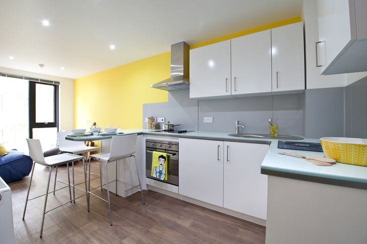 shared area - kitchen space and relaxing