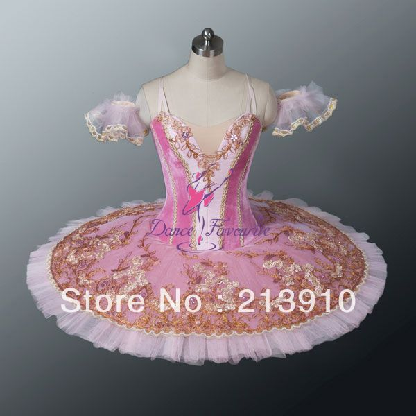 2014 New Arrival! New Ballet Tutu, pink  Professional ballet tutus, dance tutus, ballet tutu with velvet top and lace decoration $220.00
