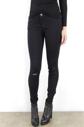 Jeans elastico rotos en rodillas Patuspies