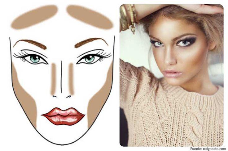Los mejores trucos de maquillaje para afinar el rostro.
