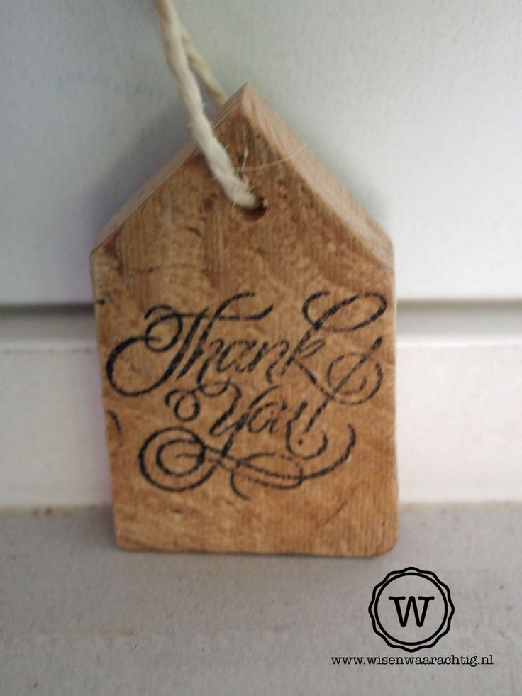 Stoer huisje als bedankje voor bijvoorbeeld een #bruiloft, #bedrijfsfeest of #kraamfeest