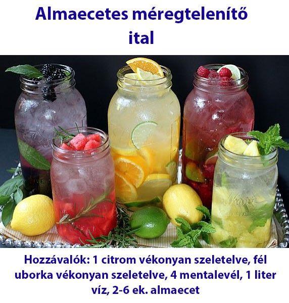 Almaecetes méregtelenítő ital