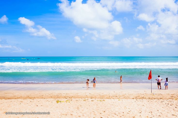 Kuta Beach is located on the western side of the island's narrow isthmus and is considered Bali's most famous beach resort destination. Kuta Beach is also minutes awayfrom the Ngurah Rai International Airport in Tuban. The nearby resorts of Tuban, Legian and Seminyak are all within close