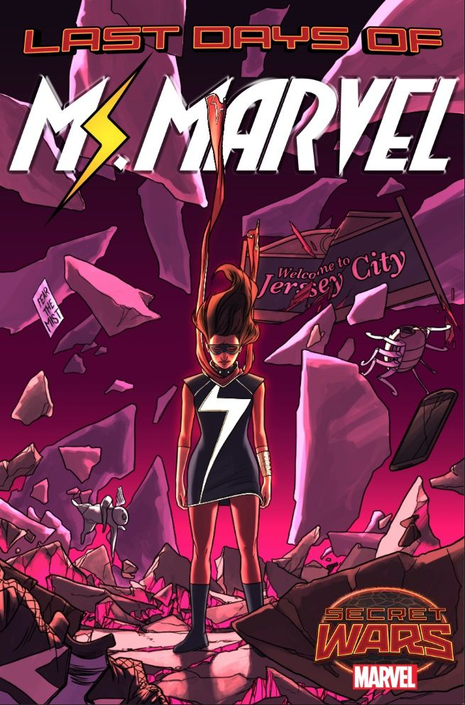 """Marvel Announces """"Last Days"""" Arc For Ms Marvel - It's not what you think it is."""