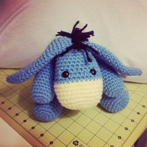 Crochet Amigurumi Eeyore : 17 Best images about Crochet - Eeyore on Pinterest ...