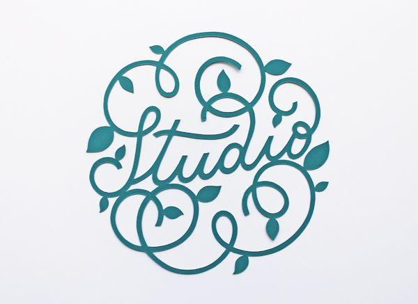 giochi di carta: Handwrite lettering