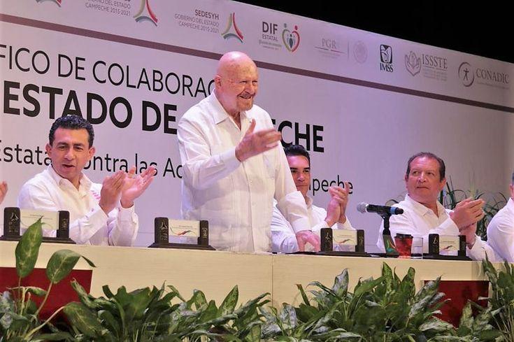 CONADIC firma convenio de colaboración con el gobierno de Campeche en materia de prevención y tratamiento - http://plenilunia.com/prevencion/conadic-firma-convenio-de-colaboracion-con-el-gobierno-de-campeche-en-materia-de-prevencion-y-tratamiento/50845/