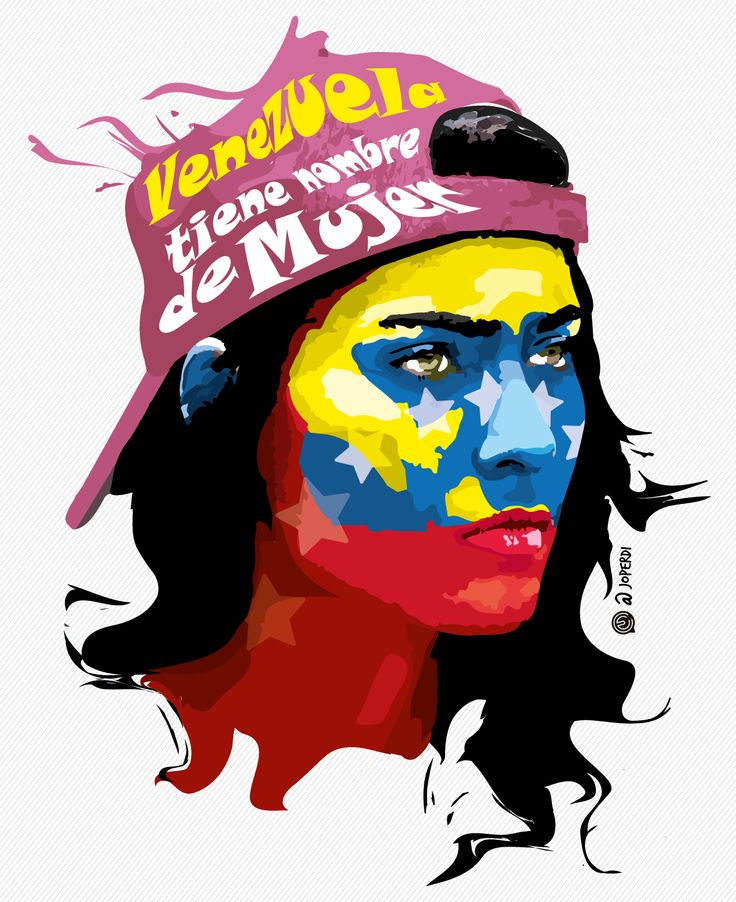 #venezuela #sosvenezuela #color #psicodelic #art #arte #face #mujer #woman #eye #ilustracion #illustration #adobe #protesta #vzla #tricolor