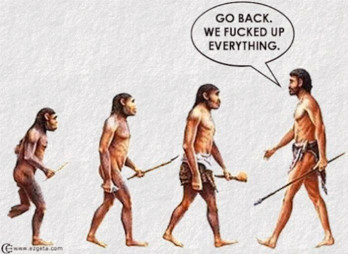 La théorie de l'évolution revisitée en 18 dessins sarcastiques !