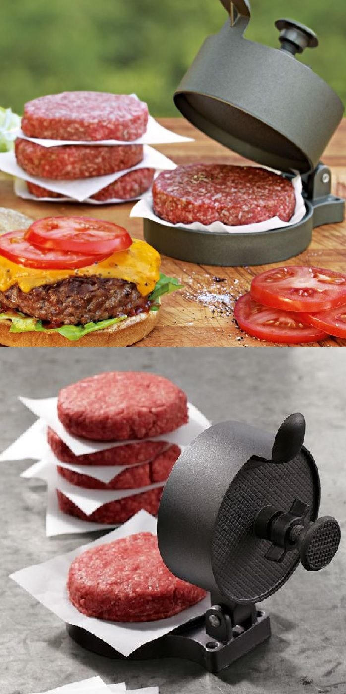 Adjustable Nonstick Burger Press. I must get another one they are very good. I have the plastic one.