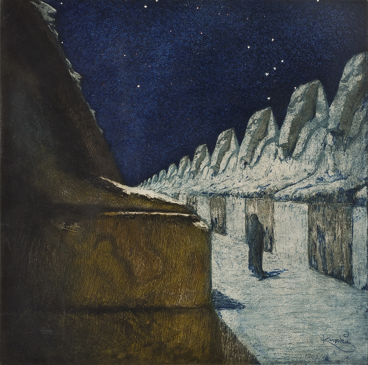 František Kupka, Cesta ticha, 1900–1903