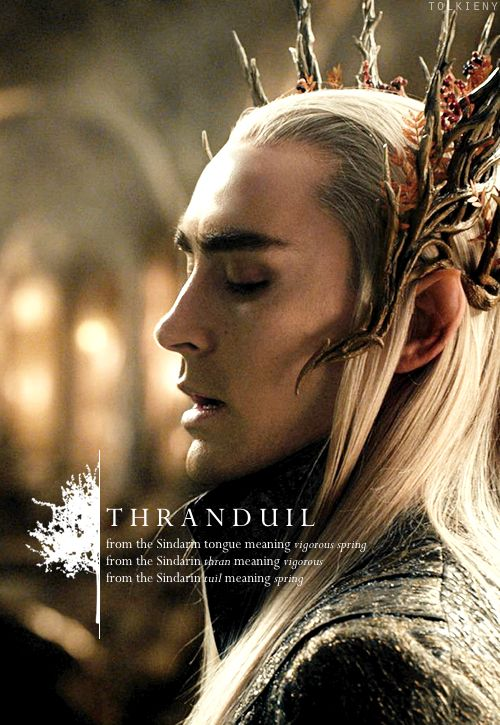 tolkieny:  the meaning of thranduil  for greenwood-the-great