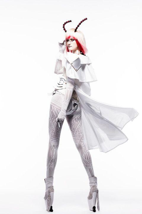 [TERRAFOMARS]:(MANGA):Michelle K. Davis Collaborated TADASHI HARADA (hair makeup artist : SHISEIDO)