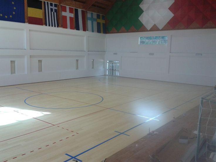 Un'amministrazione dell'Ogliastra ha scelto un classico della produzione Dalla Riva Sportfloors: il pavimento sportivo in bambù per palestre.