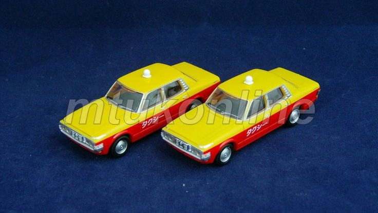 TOMYTEC HO GAUGE | TOYOTA CROWN 1971 TAXI | 1/80 | VOL.5 - NO.57 | SELL AS LOT