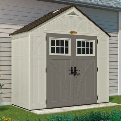 about Suncast Storage Shed on Pinterest | Eclectic outdoor storage
