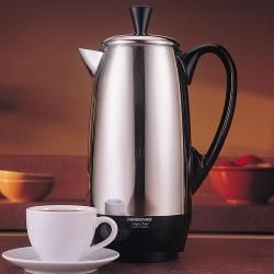 Farberware FCP412 12-cup Stainless Steel Automatic Coffee Percolator (Refurbished) | Overstock.com Shopping - Great Deals on Farberware Coffee Makers