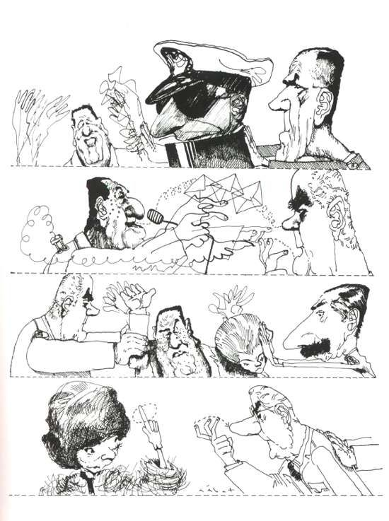 Hermenegildo Sabat, Uruguayan- Argentine cartoonist