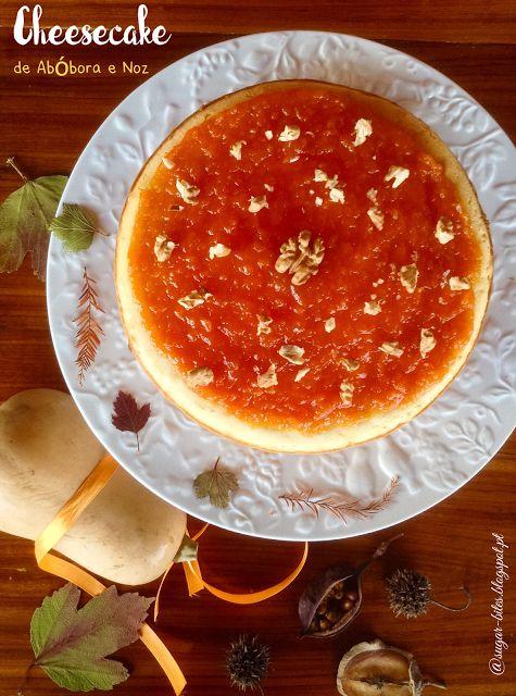 Sugar Bites: Cheesecake de Abóbora e Noz