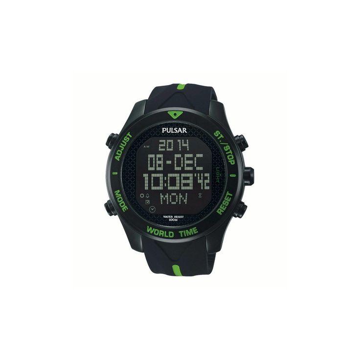 Niezwykle sportowe wcielenie zegarka Pulsar Sports PU PQ2039X1. Model skierowany głównie do ludzi aktywnych ze względu na dużo aktywnych funkcji. #zegarek #zegarki #pulsar #seiko #timetrend
